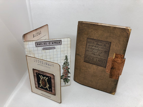 Field Notes Journal and 3 fold card