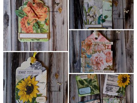 Floral Seed Packet - Friday Freebie