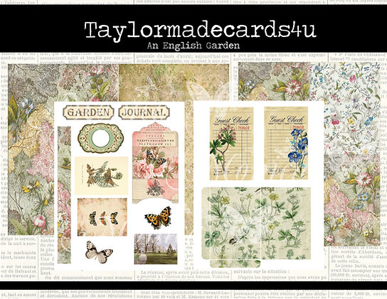 An English Garden Passport Kit