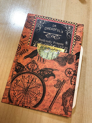 Halloween Journal Book