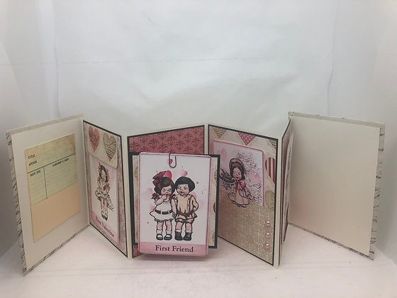 Valentine Journal book