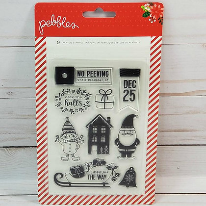 Pebbles Christmas Stamp set