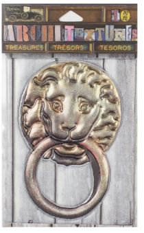7 Gypsies Architextures™ Treasures - Lion Door Knocker