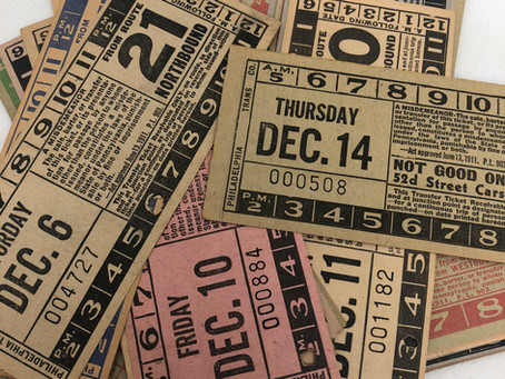 Vintage Transfer Tickets & Friday Freebie