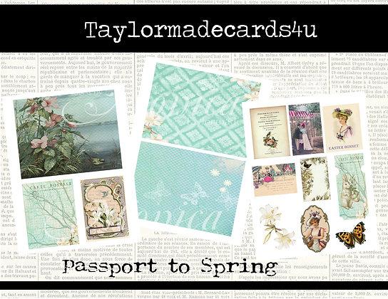 Passport to Spring -  Digital Kit