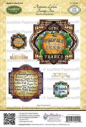 Autumn Labels - Just Rite Stamps