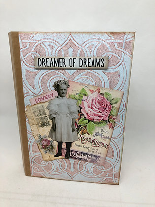 Roses & Lace Theme Journal book