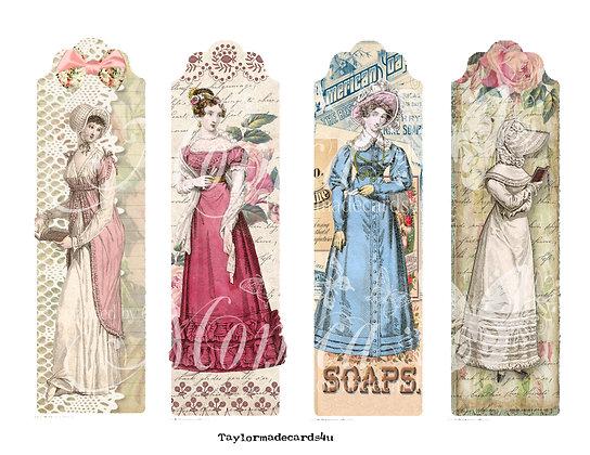 Victorian Book Marks