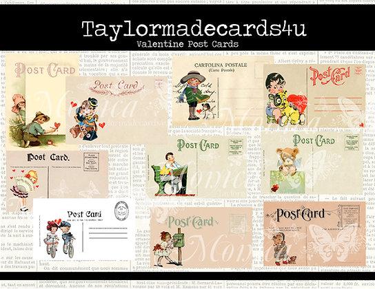 Valentine Post Cards