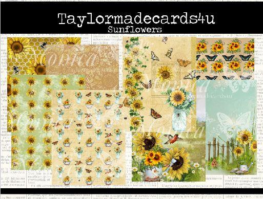 Sunflower - Paper pack