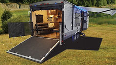 Toy Hauler Travel Trailer Camper