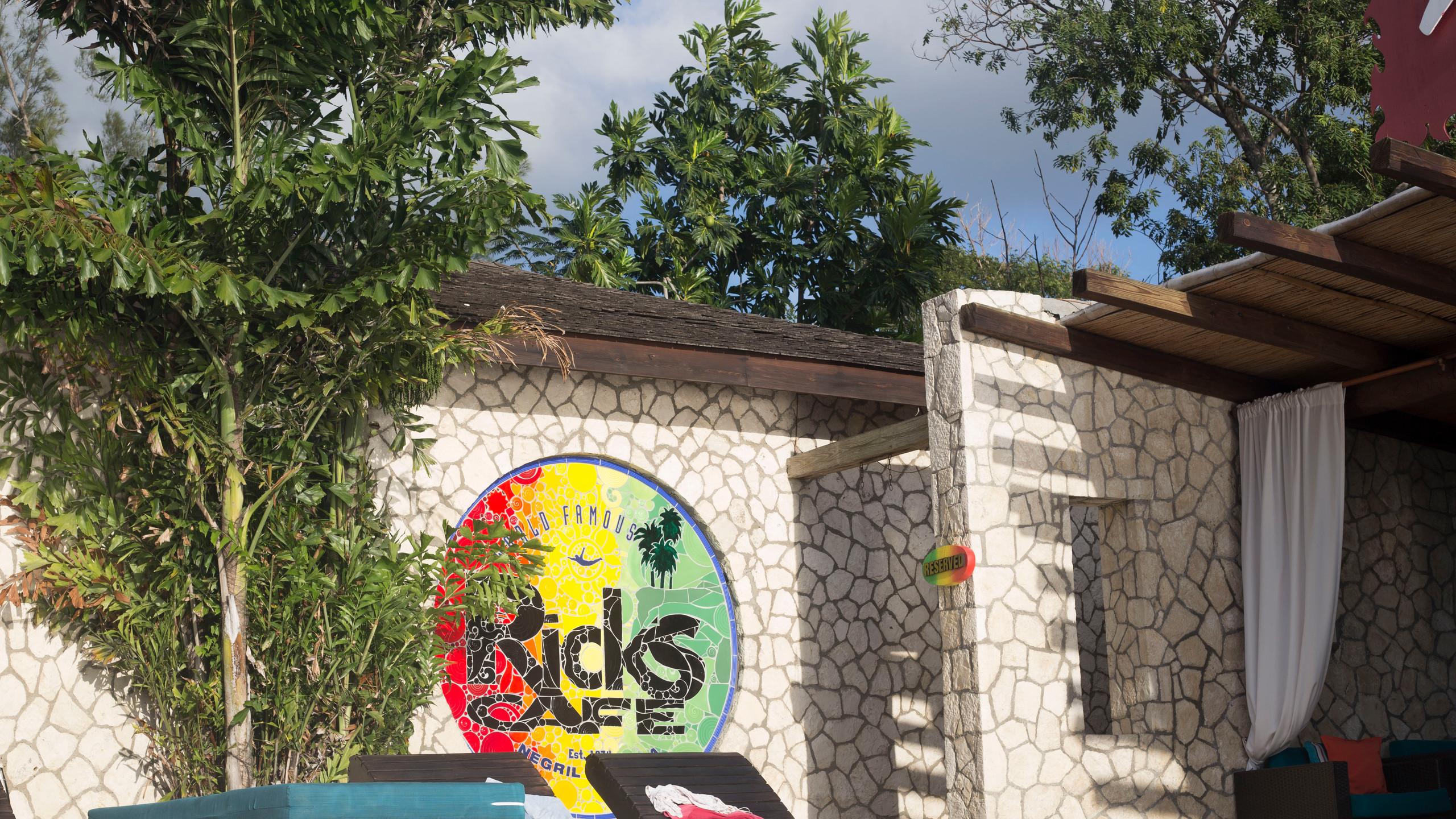 Ricks Cafe entrance