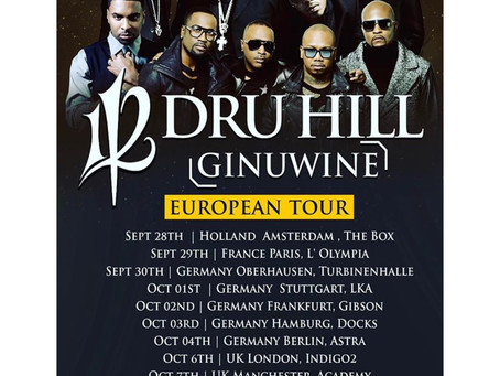 112, Dru Hill and Ginuwine  2017 London - European Tour Highlights