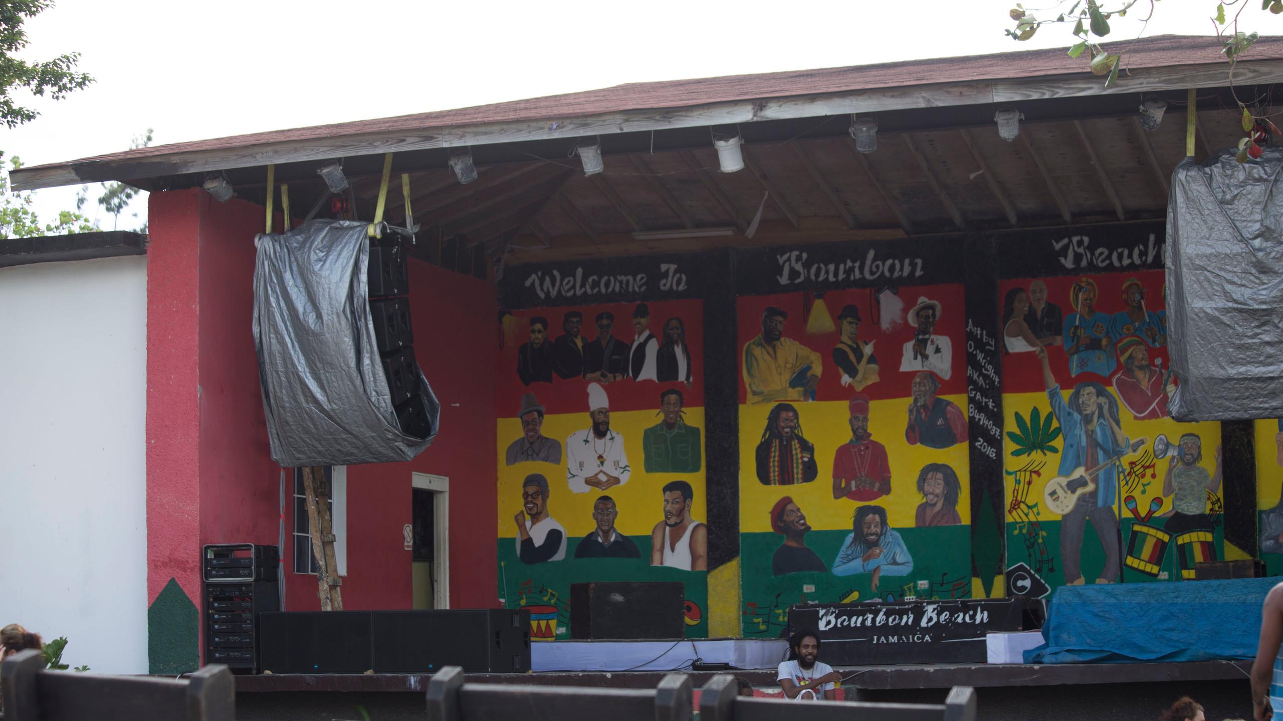 Bob Marley outside 1