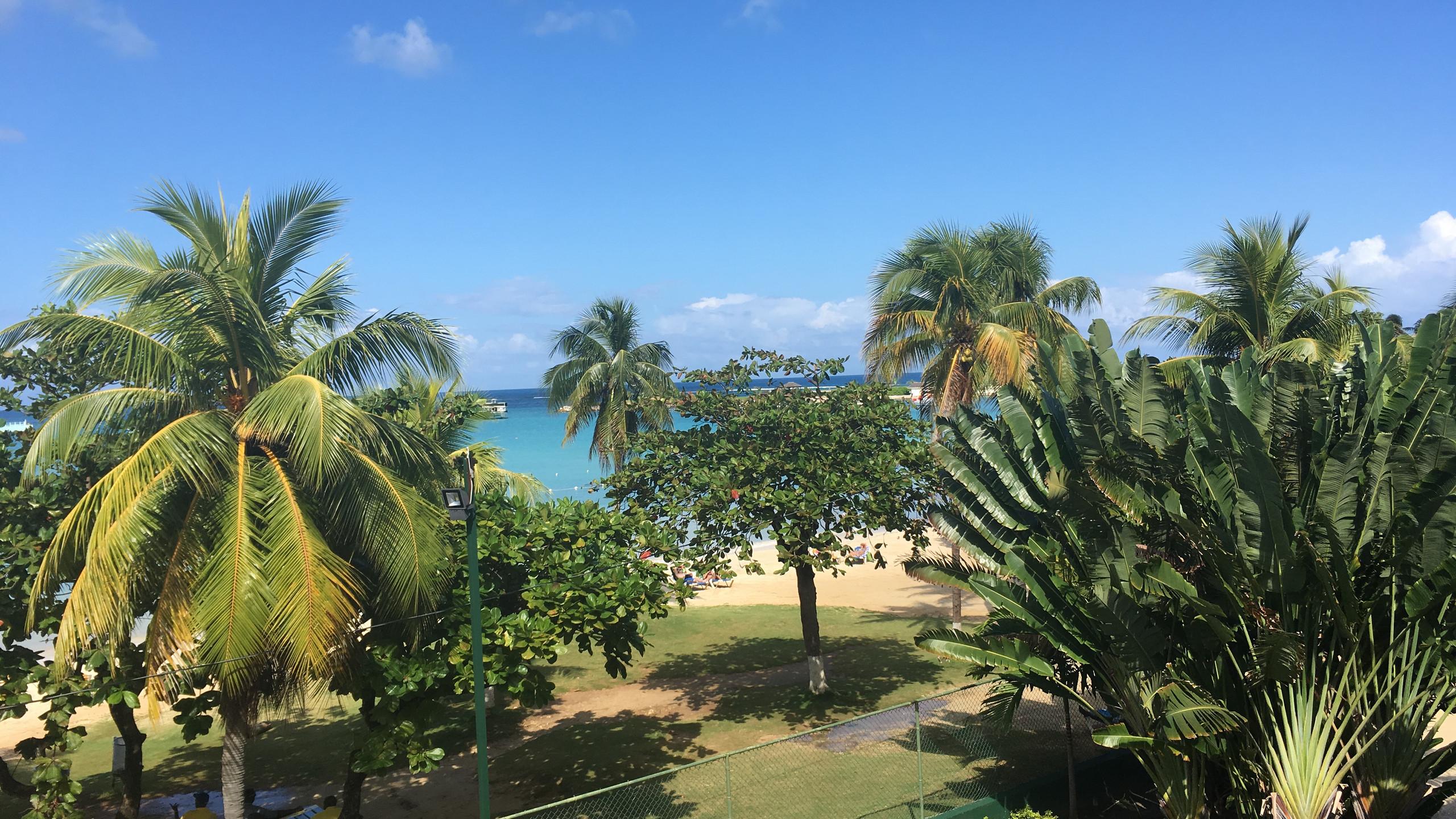 Ocho Rios sea view from hotel