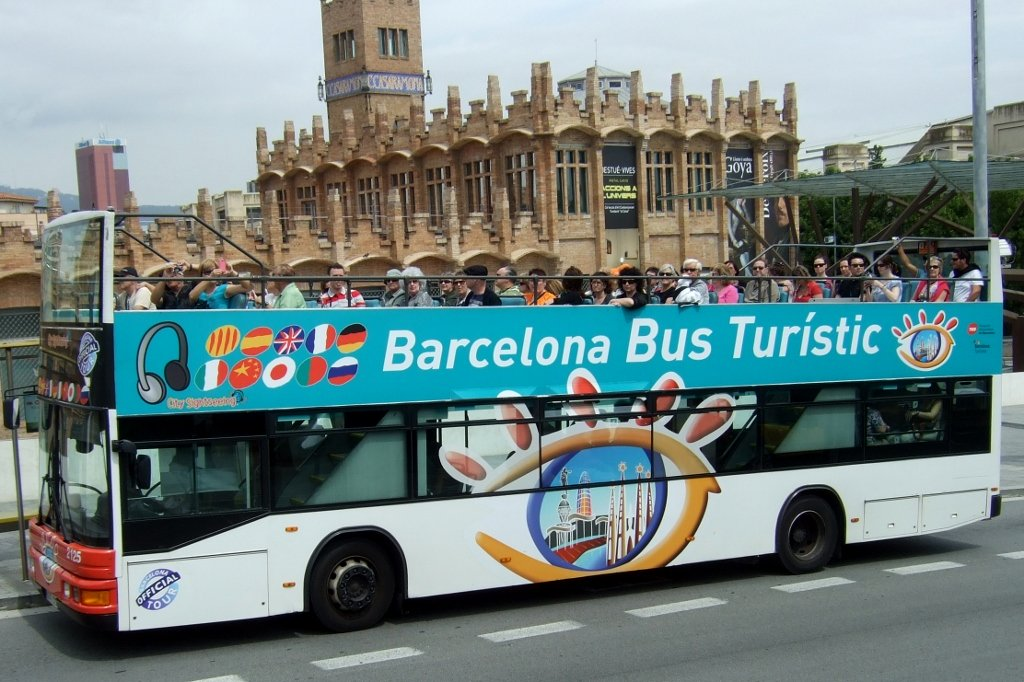 Barca City Tour Bus