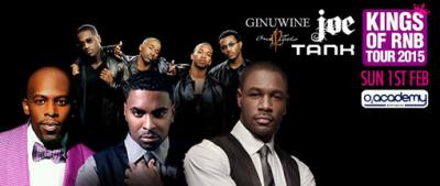 Throw back Thursday - Tank and Ginuwine in concert!