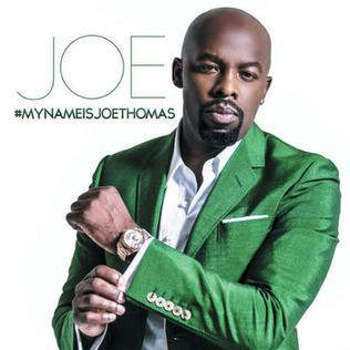 Throwback - RnB singer Joe Thomas in concert