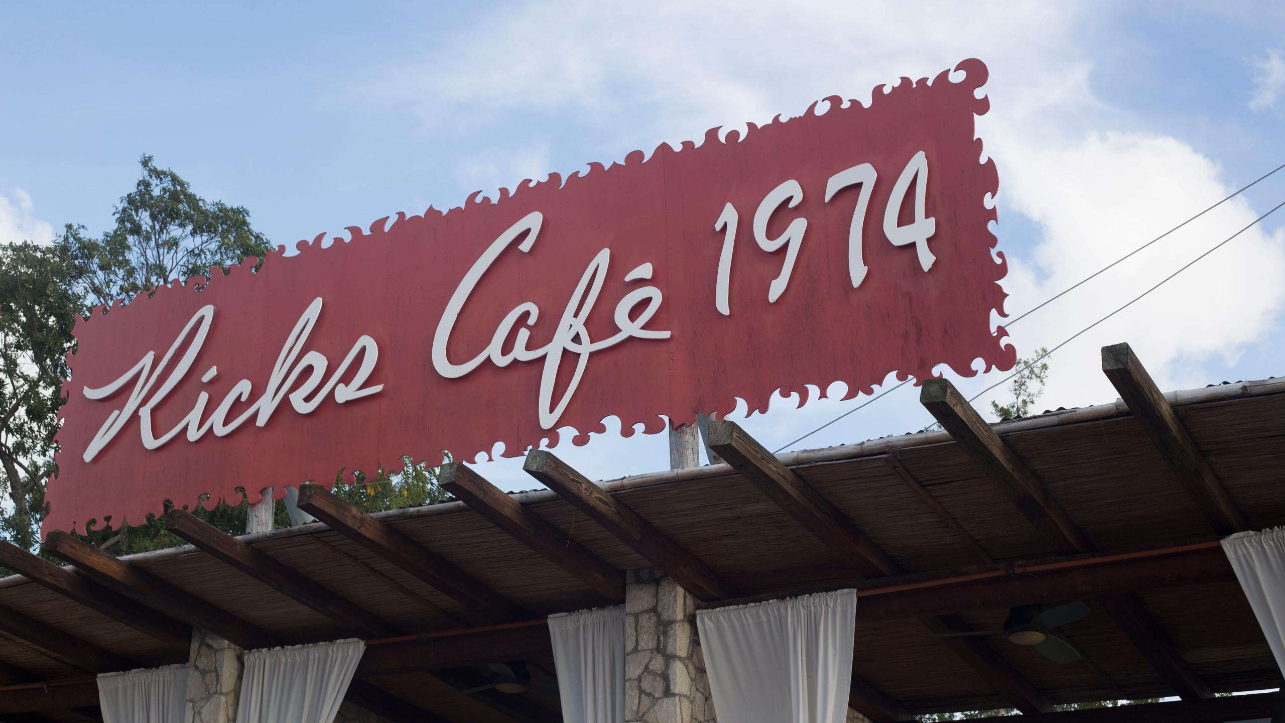 Ricks Cafe sign 2
