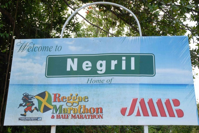Negril sign