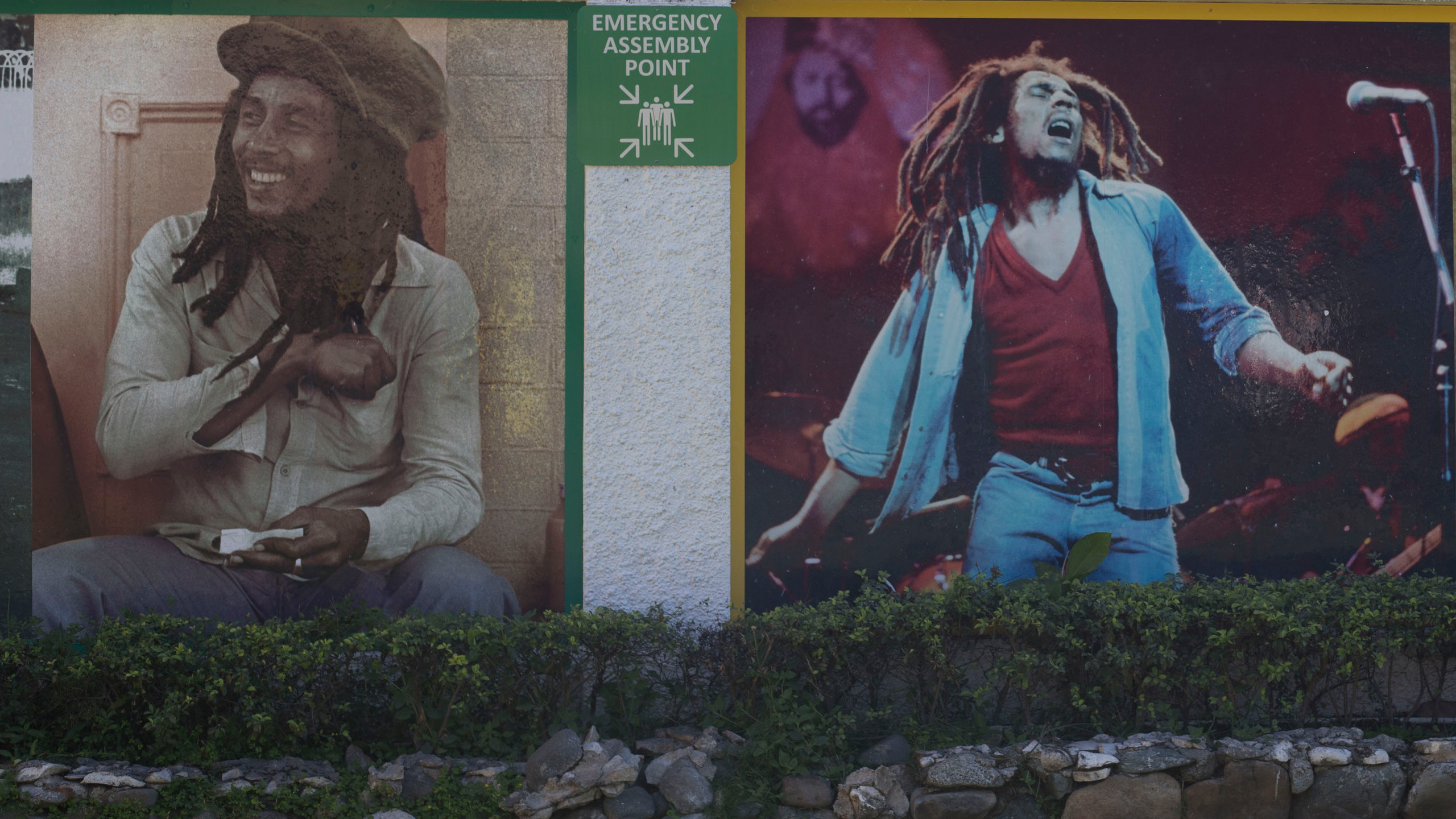 Bob Marley picture wall 3