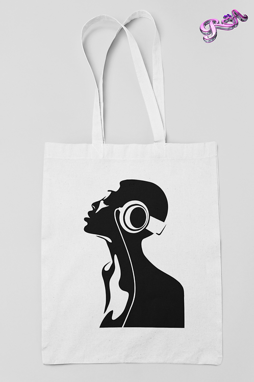 Music lady Tote bag