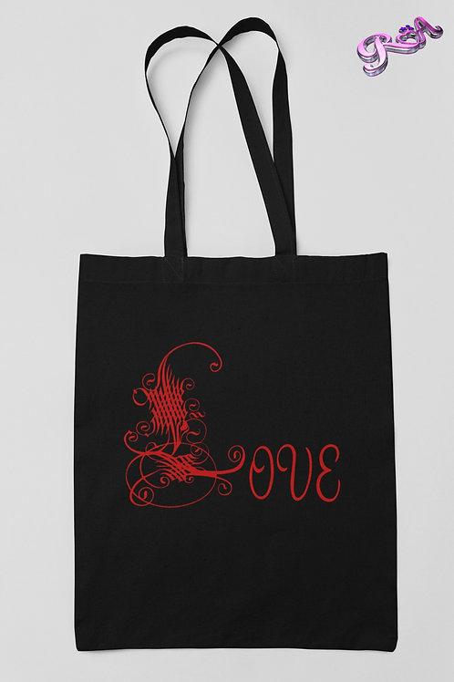 Red Love Symbol Tote bag