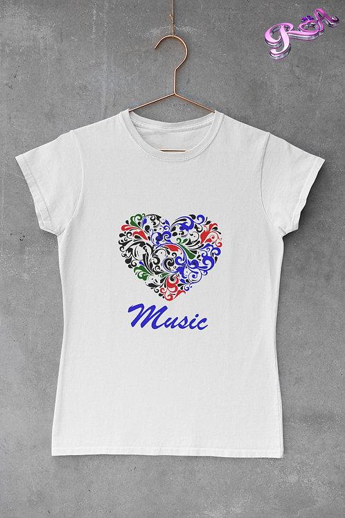 Multi colour love music