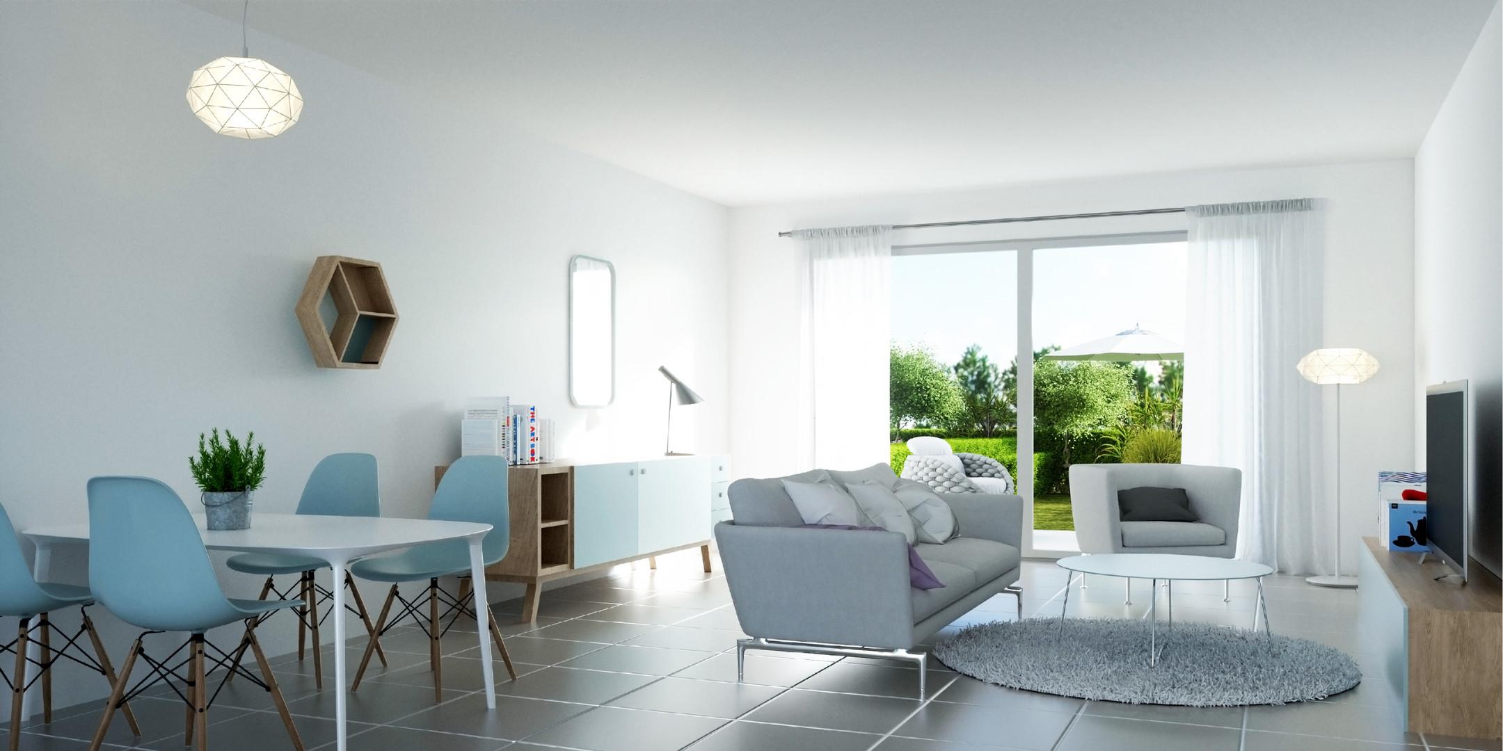 "Villa Terranea - intérieur d""un logement"