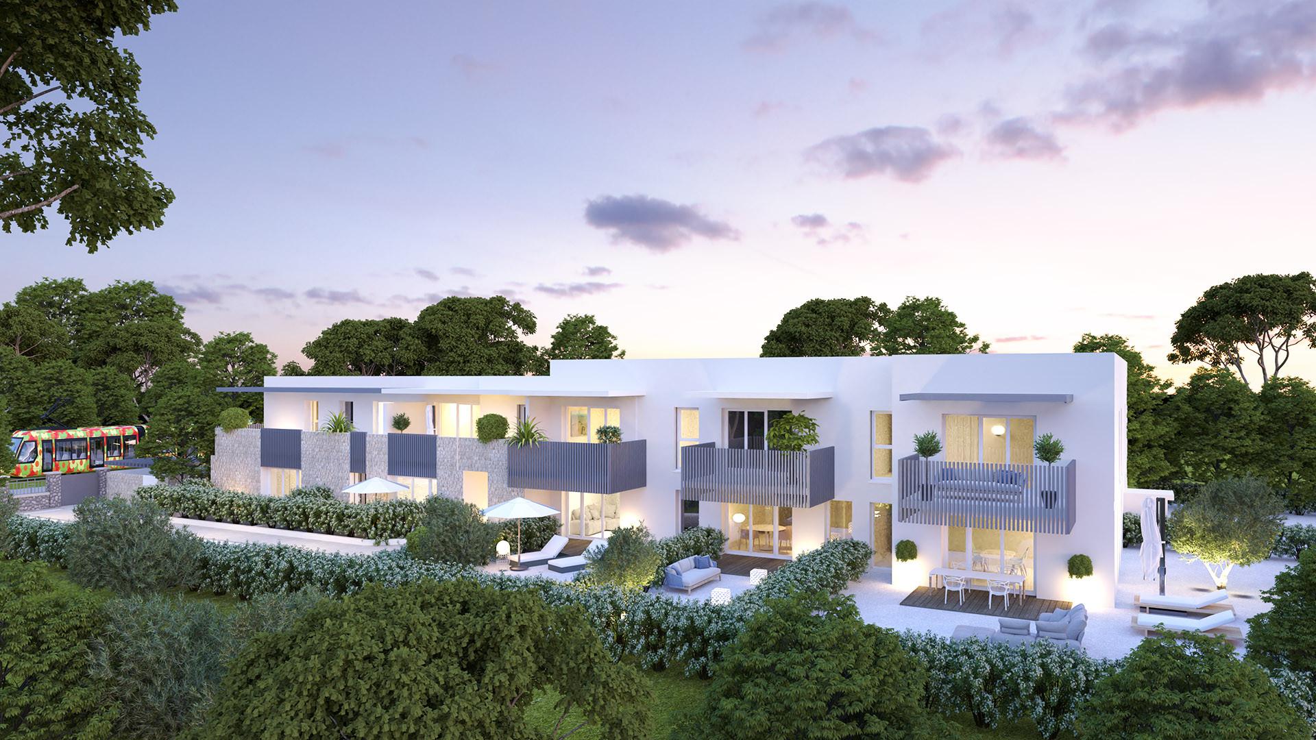 Villa Terranea - Perspective Est