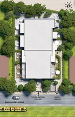 Villa Terranea - vue du dessus