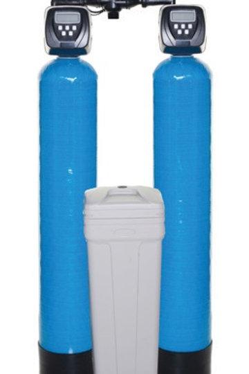 DWS30 Duplex Water Softeners c/w Clack CI Valve & Indion Resin