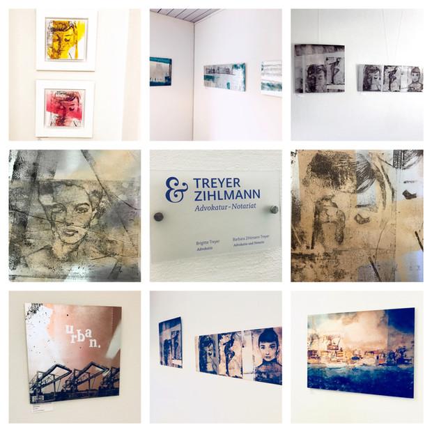 """""""2018  Kunst in der Kanzlei: Treyer & Zihlmann - Advokatur Notariat in Arlesheim ab 19.05.2"""