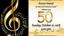 "Mass Choir ""MUSIC FOR THE SOUL"" Reunion Musical"