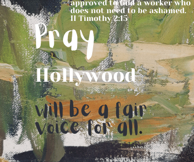 Pray for the Entertainment Industry!
