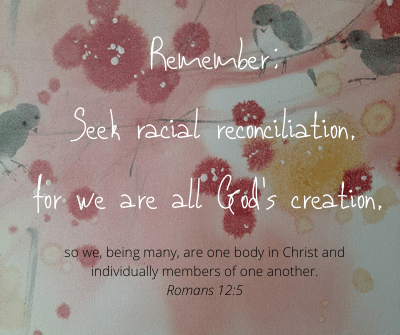 We are all brothers and sisters and part of the Body of Christ!
