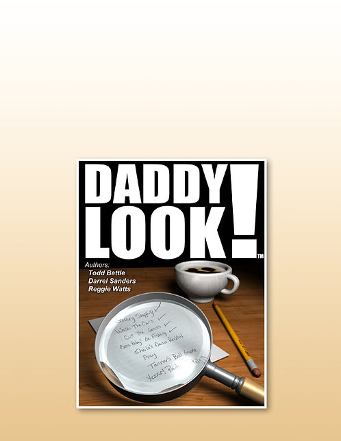 Daddy Look! Book