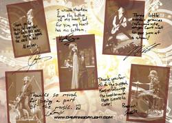 Thank you postcard - back side