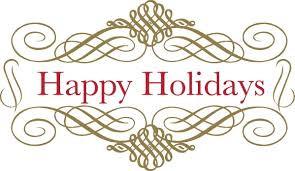 December Holiday Message