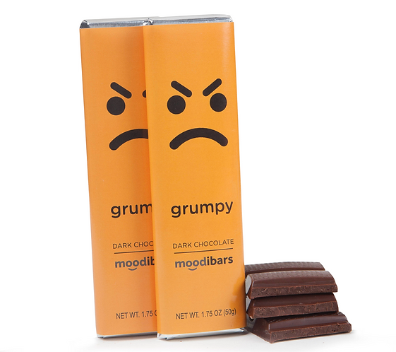 "Moodi Bar: Dark Chocolate ""Grumpy"""
