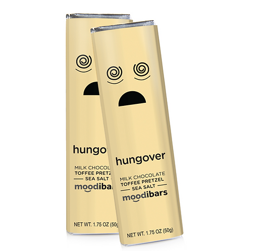 "Moodi Bar: Milk Chocolate Toffee Pretzel Sea Salt ""Hungover"""