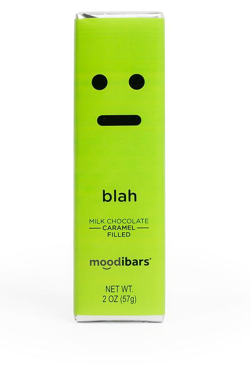 "Moodi Bar: Milk Chocolate Caramel Filled ""Blah"""