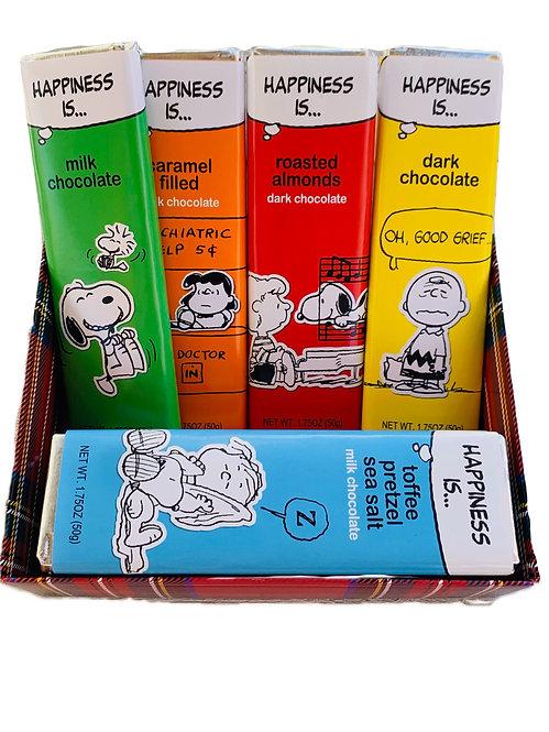 """Peanuts"" Edition Chocolate Box"