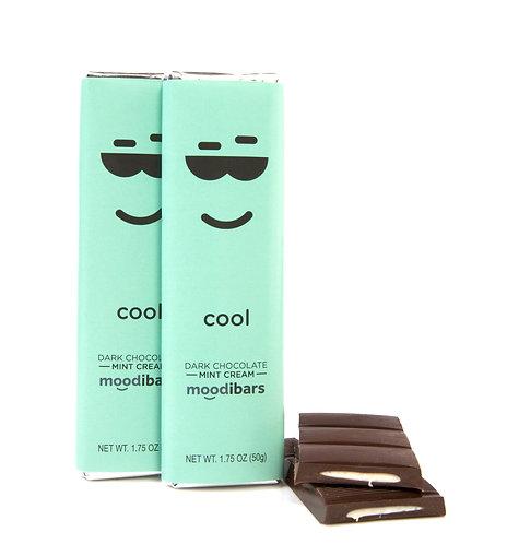 "Moodi Bar: Dark Chocolate Mint Cream ""Cool"""