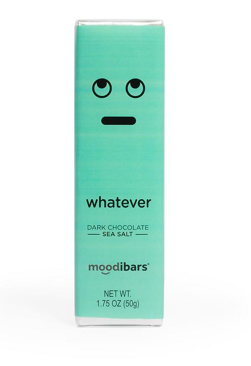 "Moodi Bar: Dark Chocolate Sea Salt ""Whatever"""