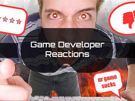 Game Developer Reactions