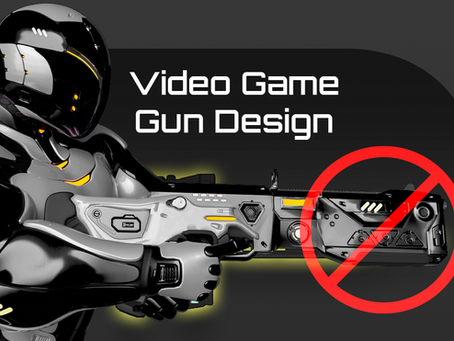 Video Game Gun Design