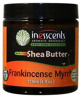 Inesscents Frankincense & Myrrh Organic African Shea Butter