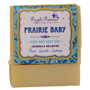 Purple Prairie Botanicals Prairie Baby Soap
