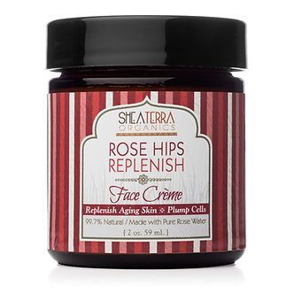 Shea Terra Rose Hips Replenish Face Cre'me